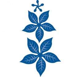 Универсална щанца за изрязване Коледна звезда - Marianne design - Creatables Poinsetta rechtvoor
