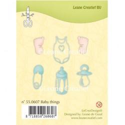 Прозрачни дизайнерски печати - Clear stamp Baby things