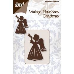 Тънка метална щанца - Joy Craft Cutting Stencil - Коледен ангел