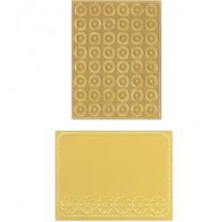 Папки за ембосинг - Sizzix - Textured Imp. Cornflowers & Posies Set(2)