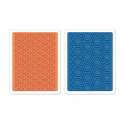 Папки за ембосинг - Sizzix - Sizzix Textured Impr.Emb.Folders 2PK - Palace Set of 2