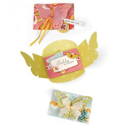 Универсална щанца за изрязване - Sizzix - Bigz XL Die-Butterfly Card