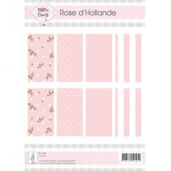 Листи А4 8 бр. - Rosa Dotje - RD Roze Holland