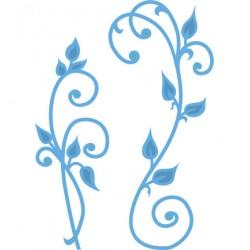 Универсална щанца за изрязване - Marianne design - Creatables Anja's Vintage swirls