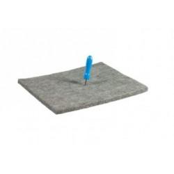 Комплект от мека фелт подложка (15 х 20см)  и мини шило - Prikvilt + Prikpen