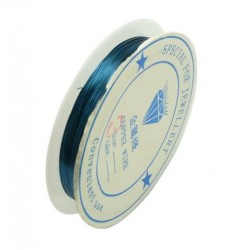 Медна тел - тюркоаз - 0.3мм - Metal Copper Wire - Turquoise - 10 метра