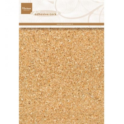 Декоративен самозалепващ се корк - Marianne design - Decoration Adhesive cork - 1 mm thickness / 15 x 21 cm / 5 pcs/