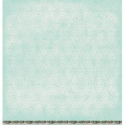 "Двустранна дизайнерска хартия 12""х 12"", 200гр. - Scrap dubbelzijdig Tres Chic SL07"