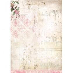 Двустранен дизайнерски лист А4, 170гр. - StudioLight - Basisvel My Botanic Garden nr.172