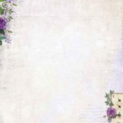 Двустранен дизайнерски лист А4, 170гр. - Studio Light - Achtergrondpapier - la Provence - BASISLP198