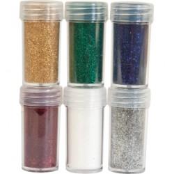 Комплект от 6 бр. брокат - Velvet Powder set 1