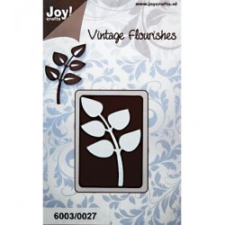 Щанца за изрязване на листенца - Vintage Flourishes Tak bladeren