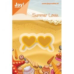 Щанца за изрязване и релеф слънчеви очела - Joy Crafts, C&E Stencil zonnebril