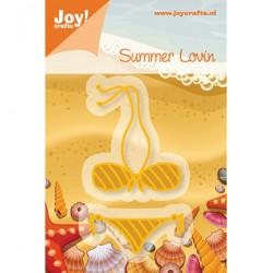 Щанца за изрязване и релеф бански - Joy Crafts, C&E Stencil bikini