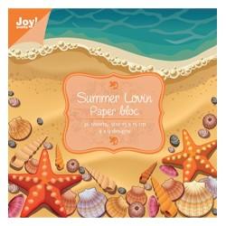 """Дизайнерско блокче 6"""" х 6""""- 36 листа- Joy Crafts Papier blok Summer Lovin"""