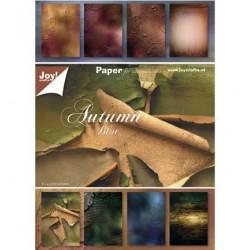 """Блокче с дизайнерска хартия """"Есен"""" - Papierblok Autumn"""