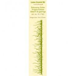 Бордюрна папка за релеф трева - Border embossing folder Grass