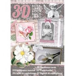 Книга за направата на 20бр. църковни картички - 3D Boek Condoleance kaarten nr.93