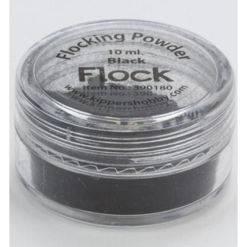 Натрошено кадифе - черно - Flocking Powder Black
