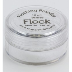 Натрошено кадифе - бяло - Flocking Powder White