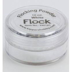 Натрошено кадифе - бяло - Flocking Powder White