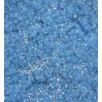 Натрошено кадифе - синьо с брокат - Sparkling Flocking Powder Blue