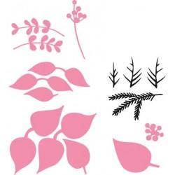 Комплект от щанци - коледна звезда - Marianne Design Collectable Eline's Poinsettia