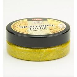 Златна боя за печати - Viva decor - Stempelverf watervast Gold