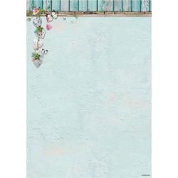 Двустранен дизайнерски лист А4, 170гр. - LOVE & HOME - Background Paper - Double Face A4