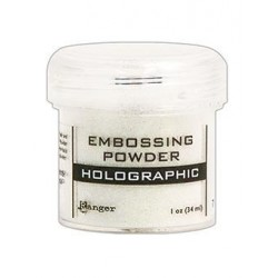 Фина ембосинг пудра - холограмна - Ranger - Embossing Powder Holographic, 17гр.