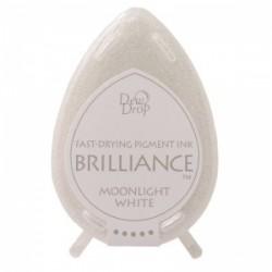 Бързосъхнещо мини мастило - Brilliance Dew Drop - Moonlight White