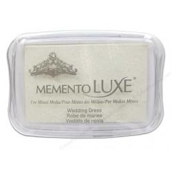 Бързосъхнещо бяло мастило - Memento Luxe Inkpad-Wedding Dress