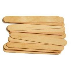 Пръчици за декорация с размери - дървени пръчки - 18x150 мм - 50бр.