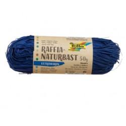 Натурална синя рафия - Raffia Naturbast Ultramarin - Ultramarin 50g