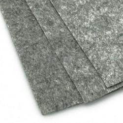 Филц - сив меланж - A4 - 1мм - 1 бр.
