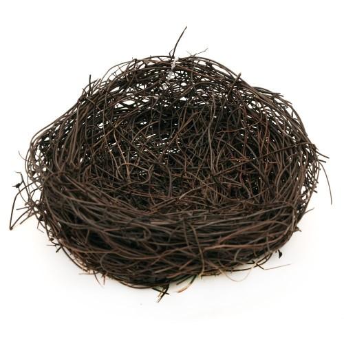 Птиче гнездо от клонки за декорация - D - 120мм