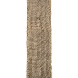 Основа за апликация лента юта / зебло - 6х300см