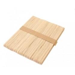 50бр. дървени пръчки / пръчици за декорация с размери - 10x115 мм