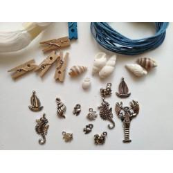 Микс от декоративни елементи - ЛЯТО