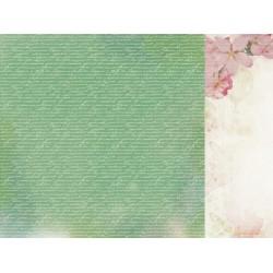 "Двустранен дизайнерски картон 12"" х 12"" - 150гр. - Kaiser craft - 12x12 Scrapbook Paper Fascinate single sheet"