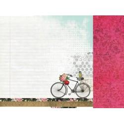 "Двустранен дизайнерски картон 12"" х 12"" - 150гр. - Kaiser craft - 12x12 Scrapbook Paper Layers single sheet"