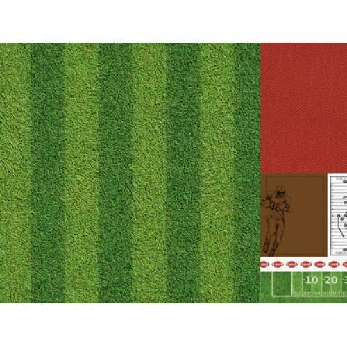 "Двустранен дизайнерски картон 12"" х 12"" - 150гр. - Kaiser craft - 12x12 Scrapbook Paper All Star single sheet"