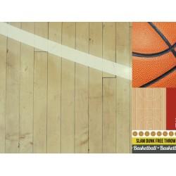 "Двустранен дизайнерски картон 12"" х 12"" - 150гр. - Kaiser craft - 12x12 Scrapbook Paper Play Hard single sheet"