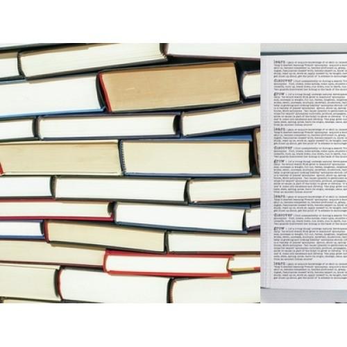 "Двустранен дизайнерски картон 12"" х 12"" - 150гр. - Kaiser craft - 2Cool4 School-Social Studies single sheet"