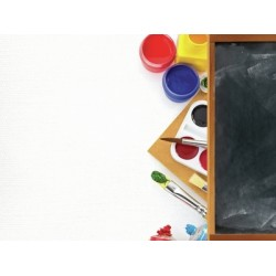 "Двустранен дизайнерски картон 12"" х 12"" - 150гр. - Kaiser craft - 2 Cool 4 School - Art single sheet"