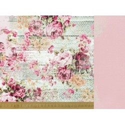 "Двустранен дизайнерски картон 12"" х 12"" - 150гр. - Kaiser craft - 12x12 Scrapbook Paper-Ladylike single sheet"