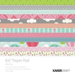 "Дизайнерско блокче 6.5"" х 6.5"" - Kaiser craft  - Little One 6.5"" Paper Pad"