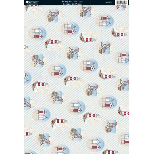 Дизайнерски картон А4 - Kanban - Printed Foiled Background Card
