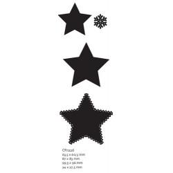 Универсална щанца звезди - Marianne Designs - Craftables-Star Shapes