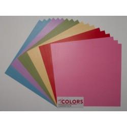 "Комплект от 18бр. картони 12"" х 12"" - 12x12 inch Light Tones Cardstock Bundle 18pcs - 216гр."